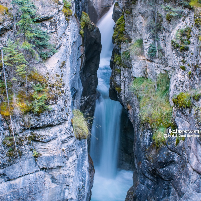 Photo Spots in Jasper National Park - Maligne Canyon 3rd Falls