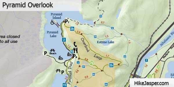 Pyramid Overlook Trail Map